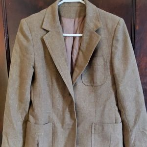 Vintage wool lined Country Suburbans blazer